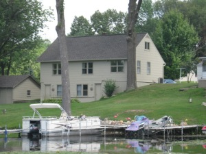 Jimmerson Lake House - before picture
