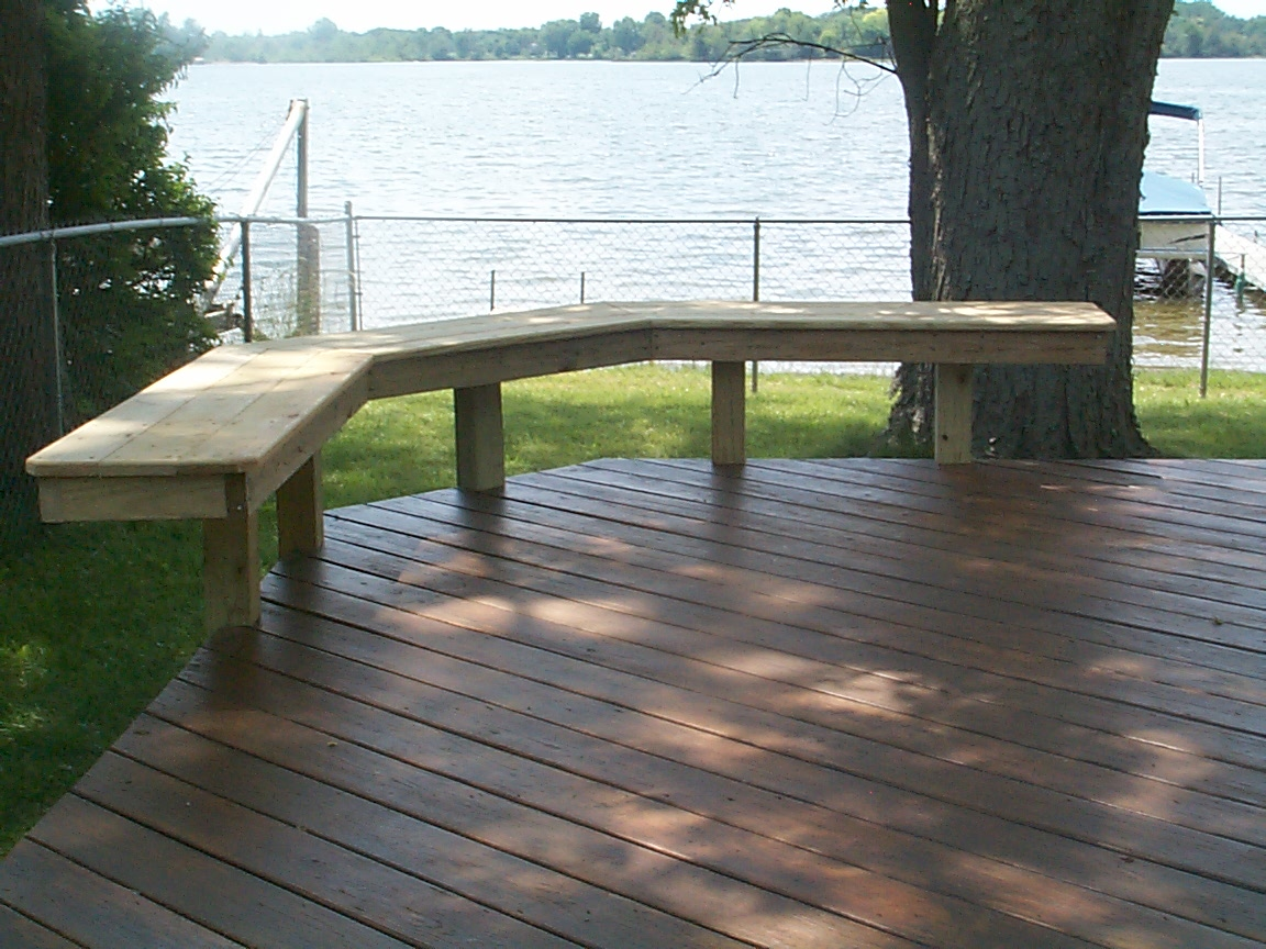 upcoming deck addition will have comfort and quality built