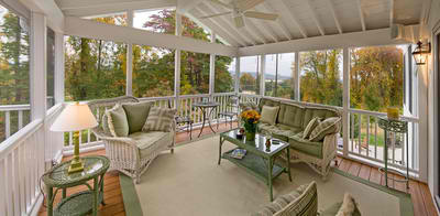 Fort Wayne screened porches