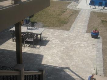 Belgard paver patio Fort Wayne by Archadeck