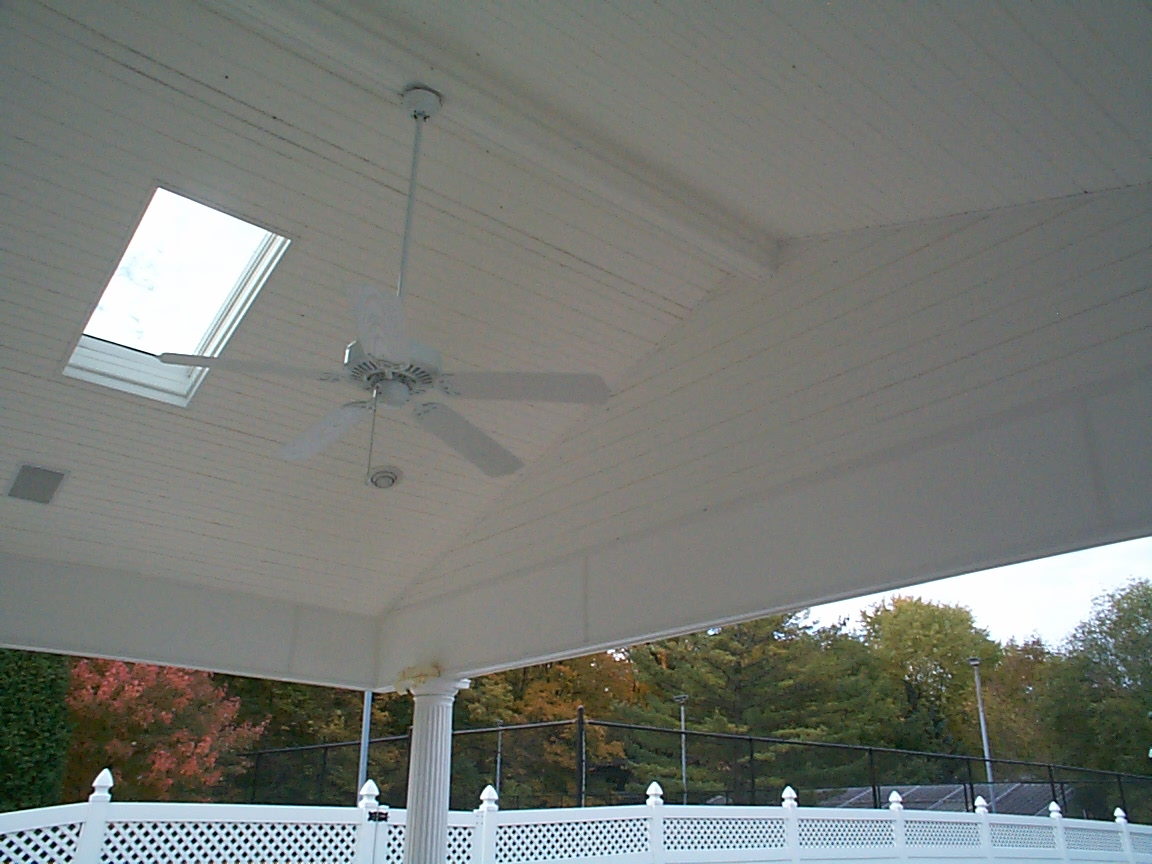 Porch Ceilings In Fort Wayne In Open Porches And Screened
