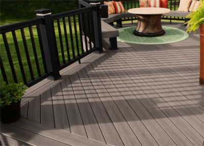 Fort Wayne deck builder TimberTech Terrain silver maple