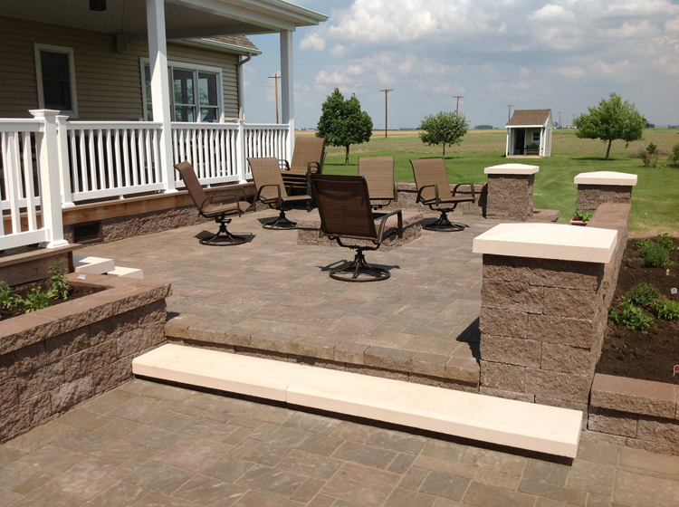 Belgard Paver Patio Ft Wayne By Archadeck