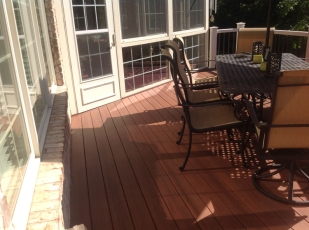 deck resurfacing with TimberTech Ft Wayne