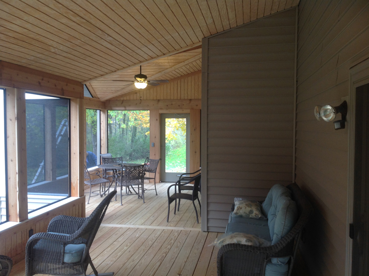 Archadeck of fort wayne ne indiana decks porches for Large screens for porches