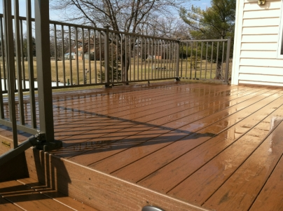 TimberTech Terrain is a capped composite at a nice price point with all the benefits of synthetic decking.