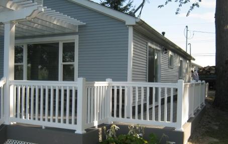 Lagrange County IN deck, pergola and ramp