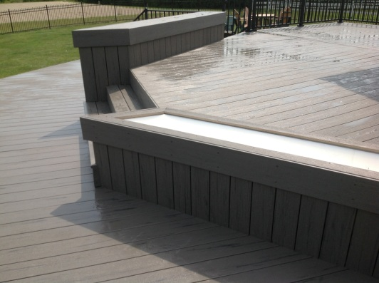 The new design shows attention to every detail. Here is a detailed look at the custom planters: