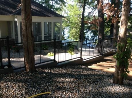 Fort Wayne TimberTech lakefront decks