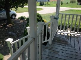 Auburn Porch Before
