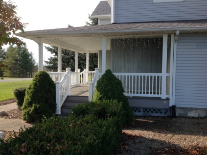 Porch Access from Driveway (2)