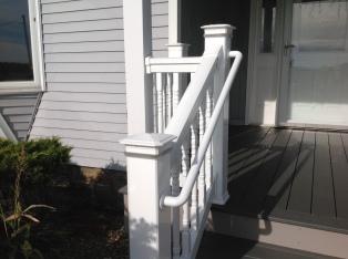 Stair post lighting-LED