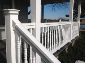 Tam-Rail with colonial balusters
