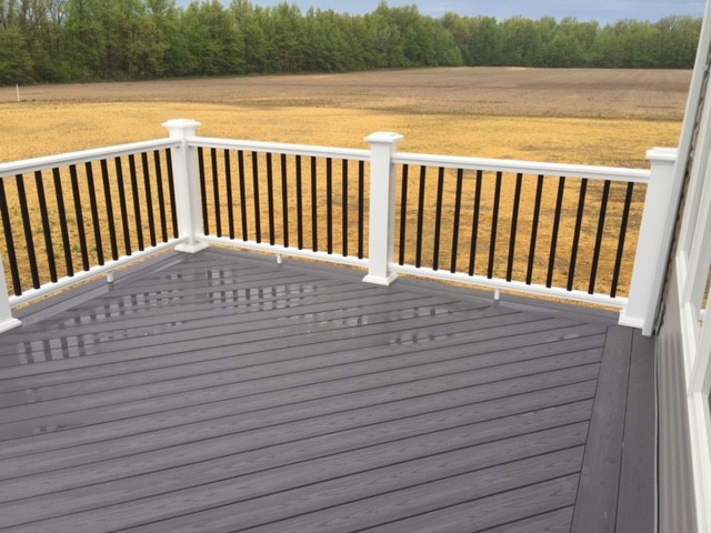 Composite Deck in Custom Home 03